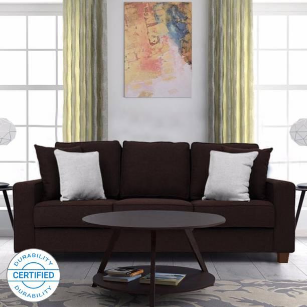 FURNY Alaina Fabric 3 Seater  Sofa