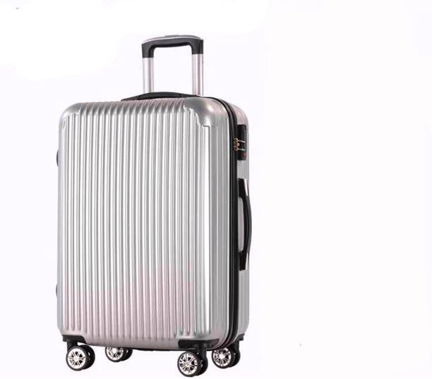 b9220d0ffe5 Di Grazia Silver Colour Tourist Rolling Business Cabin Check-in Case  Trolley Travel Suitcase Bag