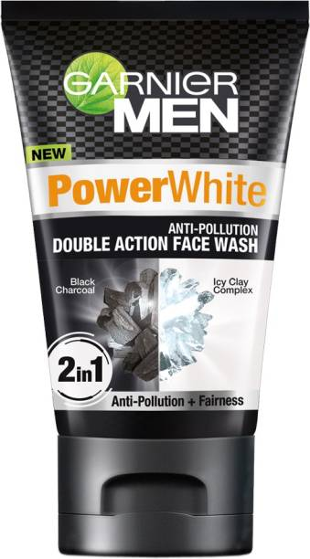 Garnier Men Power White Anti-pollution Double Action Face Wash