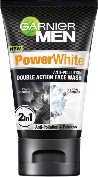 GARNIER Power White Anti-pollution Double Action Face Wash