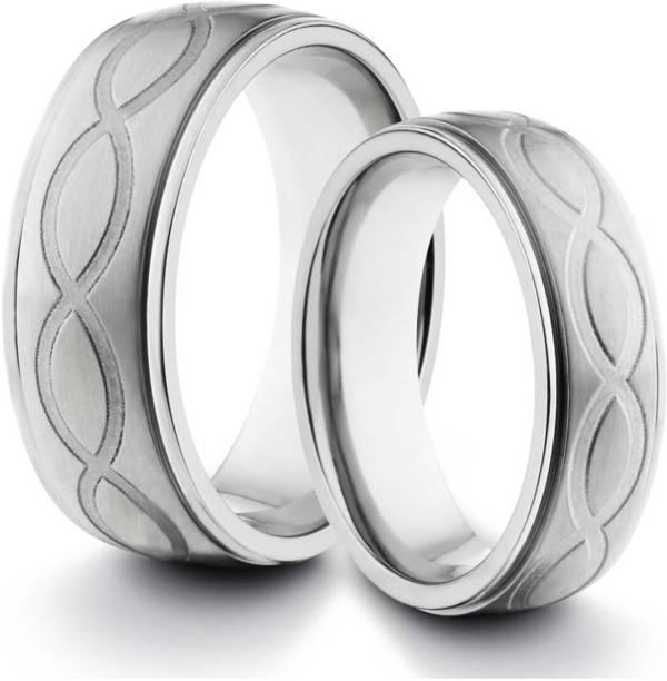c6f276bb83a5 Kiara Jewellery Minal Sterling Silver Cubic Zirconia Rhodium Plated Ring