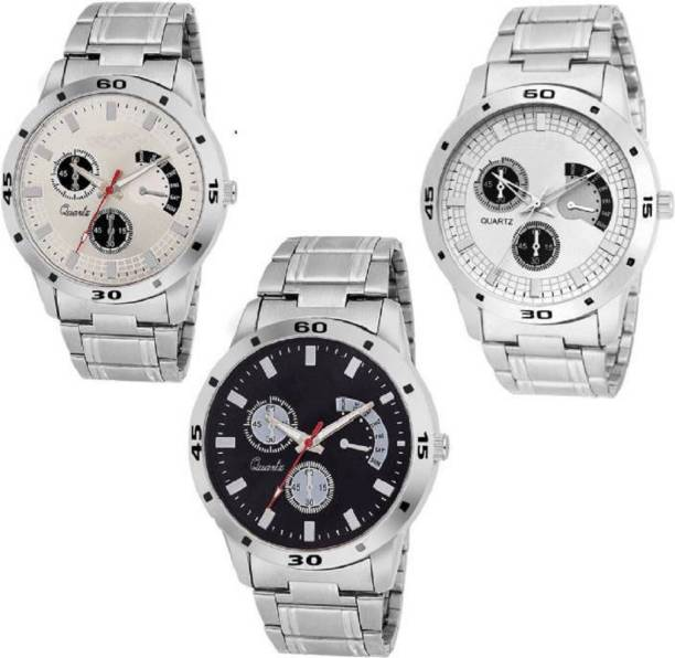 1ab2633243 Miss Perfect Set Of Three Modish Designer Rich~look Combo For Boys Watch -  For