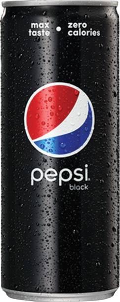Pepsi Black Can