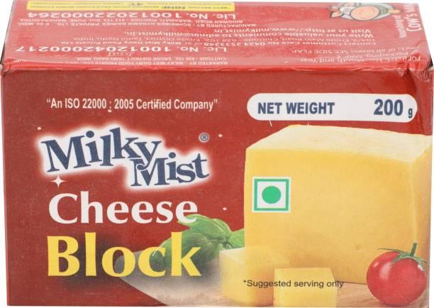 Milky Mist Plain Processed cheese Block