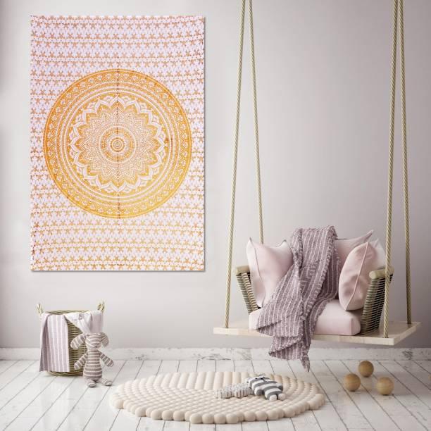Handicraft-Palace Ombre Mandala Wall Hanging Art Tapestry