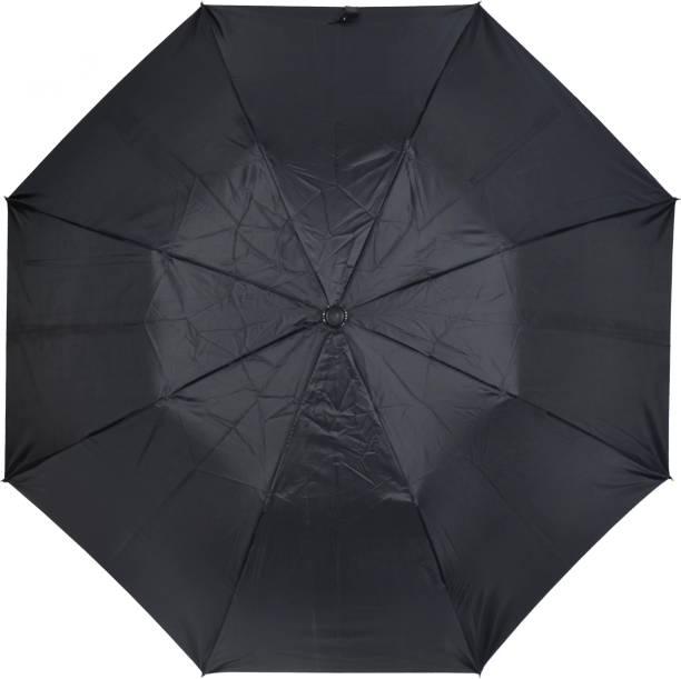 Fendo 2 Fold Auto Open Metallic Rain Umbrella