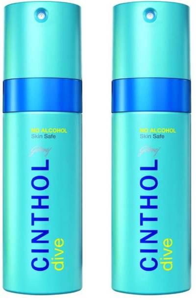 Cinthol DIVE Deodorant Spray  -  For Men & Women