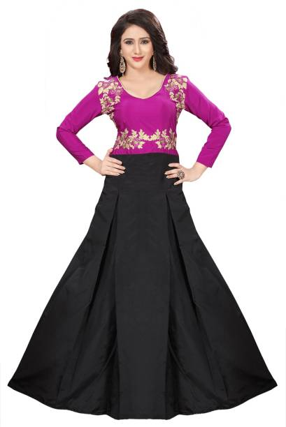 Chiffon Gowns - Buy Chiffon Gowns Online at Best Prices In India ...