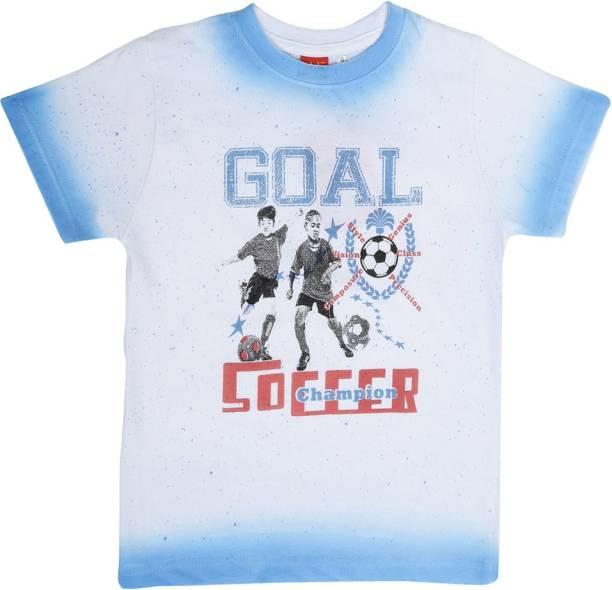3ed3cf4f Dollar Champion Kidswear Boy's Printed Cotton Polyester Blend T Shirt