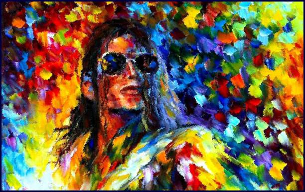 Michael Jackson Fine Quality Wall Wall Poster Print on Art Paper 13x19 Inches Paper Print