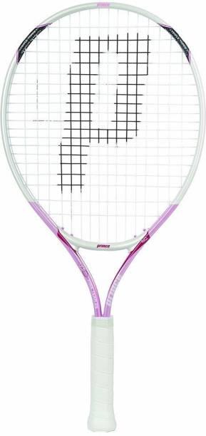 PRINCE 7T21U205 - AirO Pink Team 25 Junior Girls Pink Strung Tennis Racquet