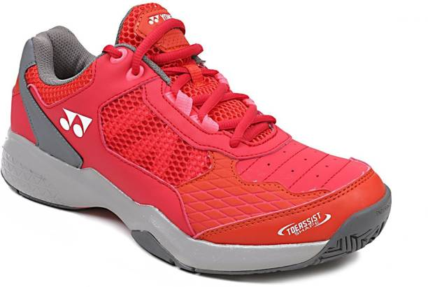 competitive price ab159 04b21 Yonex Lumio Non-Marking Power Cushion Outdoor Court Tennis Shoes For Men
