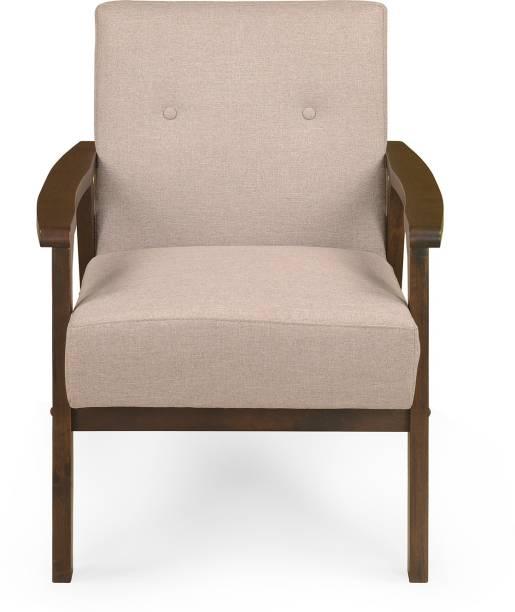 Nilkamal Zoey Fabric 1 Seater  Sofa