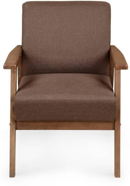 Nilkamal Layla Fabric 1 Seater  Sofa