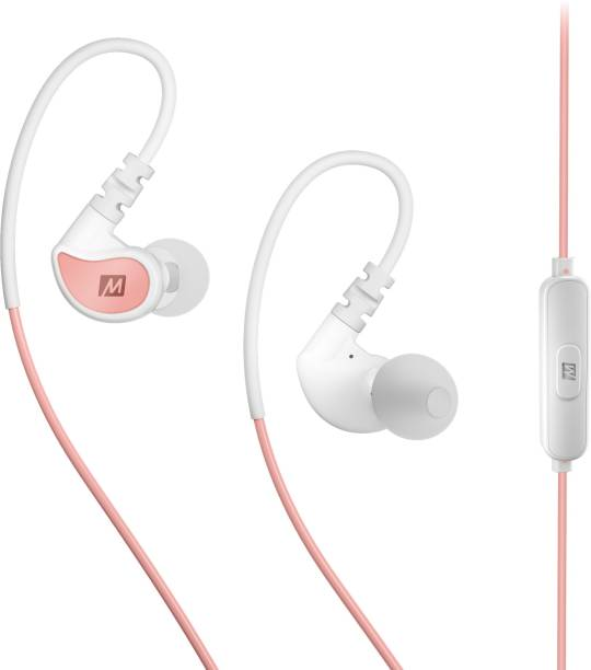 c247d6aae62 Mee Audio X1 in-ear waterproof sports headphones with microphone and remote  Coral/White