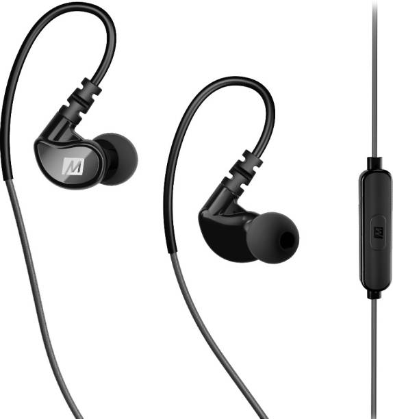 a634fcfbd20 Mee Audio X1 in-ear waterproof sports headphones with microphone and remote  Gray/Black