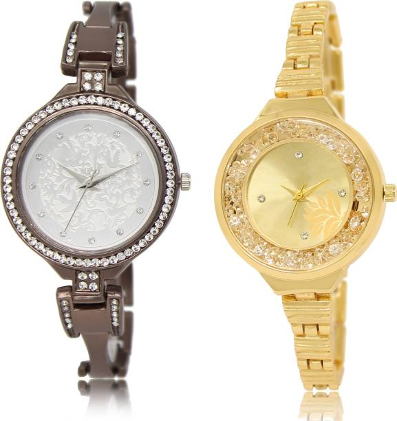 d5459acd05 PRATHAM SHOP Latest Quartz Combo Watch GL236-GL224 For Girls And Women Watch  - For