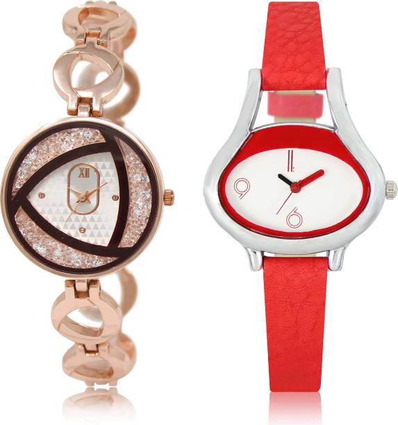 37c39bc0b7 PRATHAM SHOP Contemporary Designer Combo Watch GL238-GL206 For Girls And Women  Watch - For