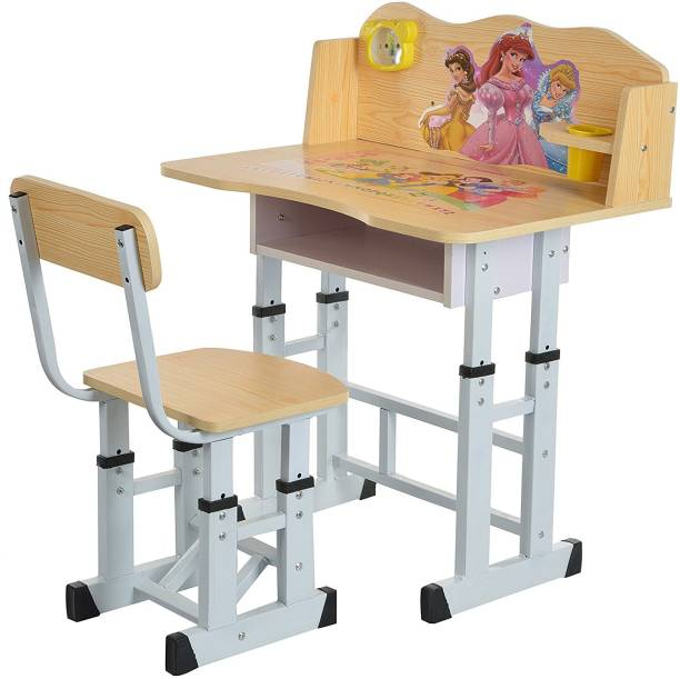 Iris Wooden Finish Princess Kids Solid wood Desk Chair