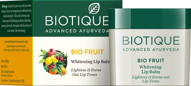 BIOTIQUE Bio Fruit Whitening Lip Balm Fruity