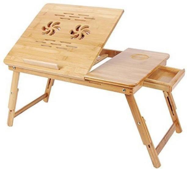 Webelkart Bamboo Portable Laptop Table