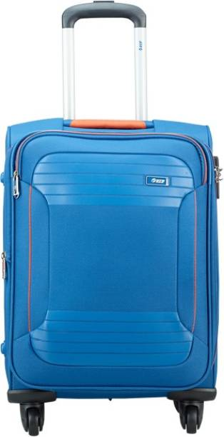 47b0dbbadc6b VIP ZANE 4W EXP STROLLY 59 MARINE BLUE Expandable Cabin Luggage - 18 inch