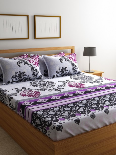 Travel Memento Multicoloured Bedding Set Double Brand New