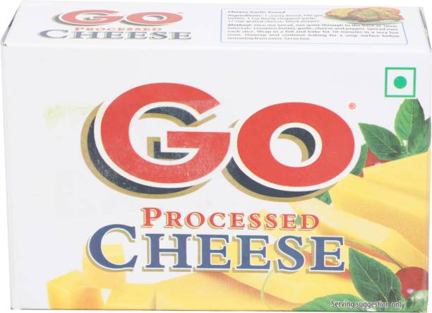 Go Plain Processed cheese Block