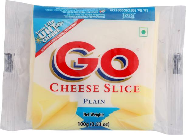 Go Plain Processed cheese Slices