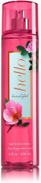 BATH & BODY WORKS Hello Beautiful Fine Fragrance Body Mist  -  For Women
