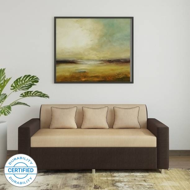 WESTIDO Proto Asian Fabric 3 Seater  Sofa