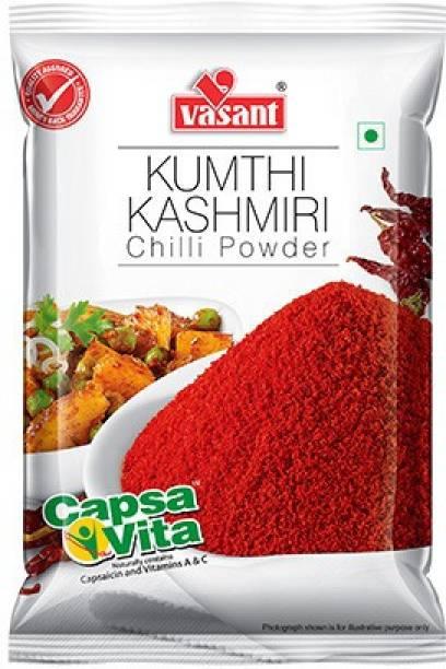 """VASANT"""" V"""" . VASANT KUMTHI KASHMIRI CHILLI POWDER - 500g"""