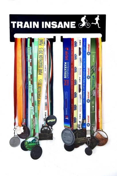 """Fitizen Train Insane 18"""" Medal Hanger Medal"""