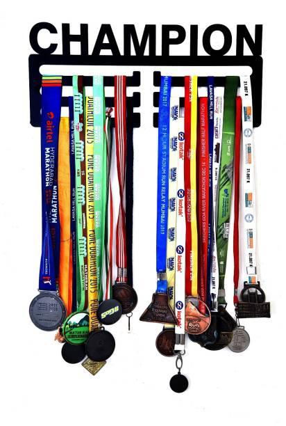 "Fitizen Champion Triple Loop 18"" Medal Hanger Medal"