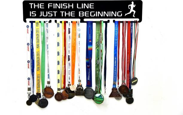 """Fitizen The Finish Line is Just the Beginning 30"""" Medal Hanger Medal"""