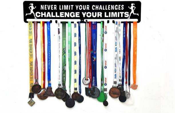 """Fitizen Never Limit Your Challenges..Challenge your Limit 30"""" Medal Hanger Medal"""