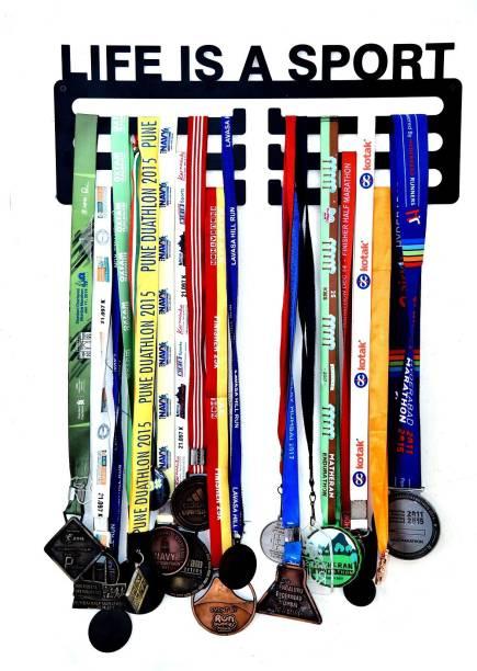 "Fitizen Life is a Sport Triple Loop 18"" Medal Hanger Medal"