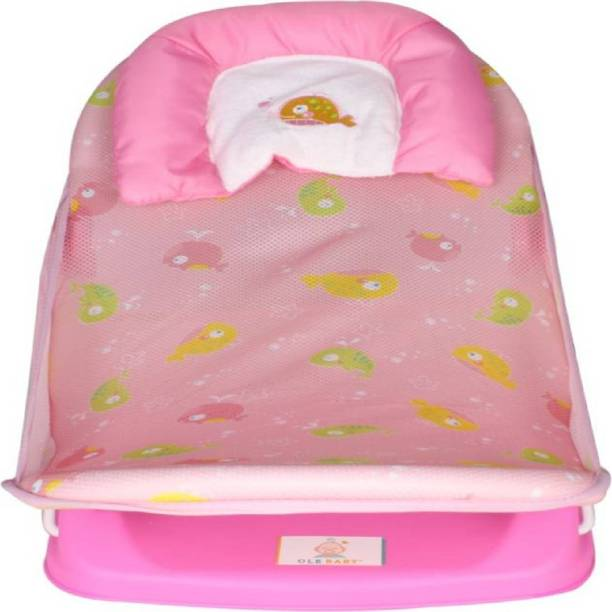 BABIQUE Baby Deluxe Bather Baby Bath Seat (Pink) Baby Bath Seat