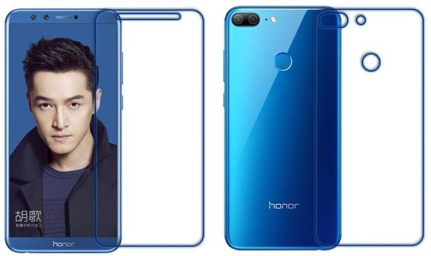 Mudshi Front and Back Tempered Glass for Honor 9 Lite