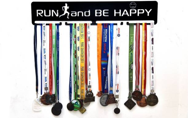 """Fitizen Run and be happy 30"""" Medal Hanger Medal"""