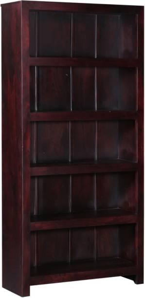 Balaji Wooden Solid Wood Open Book Shelf