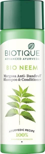 BIOTIQUE Bio neem Margosa Anti Dandruff Shampoo & Conditioner