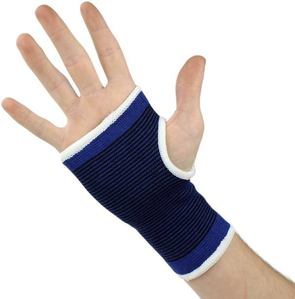 1485a790cd QUINERGYS ® Wrist Brace Sleeves for Badminton, Yoga, Basketball, Cycling,  Table Tennis