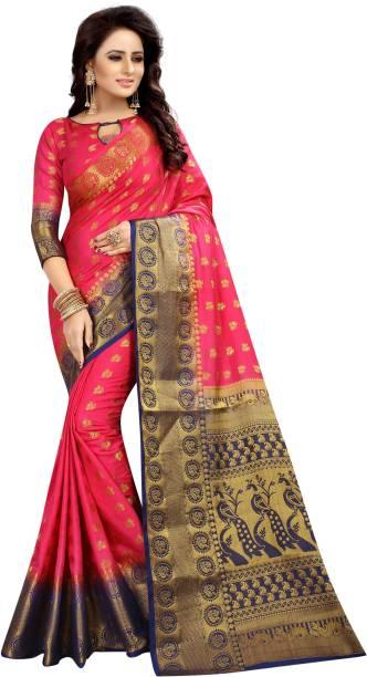 528af16a24 Magenta Sarees - Buy Magenta Sarees Online at Best Prices In India ...