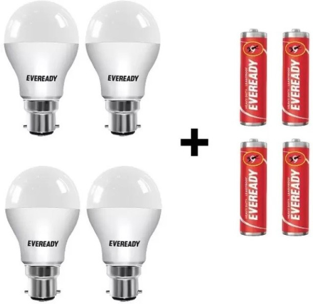 Eveready 10 W Round B22 LED Bulb