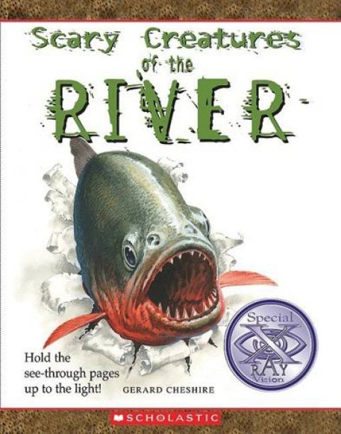 Scary Creatures Of The River - Hold the See - Through Pages Up to the Light!