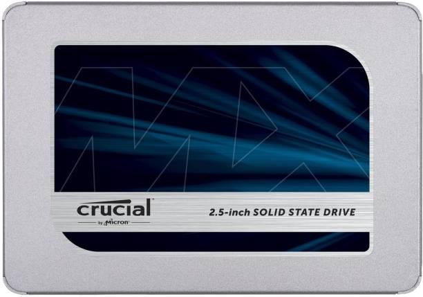 Crucial MX500 500 GB Laptop, Desktop Internal Solid State Drive (CT500MX500SSD1)