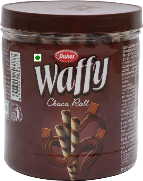 Dukes Waffy Choco Wafer Rolls