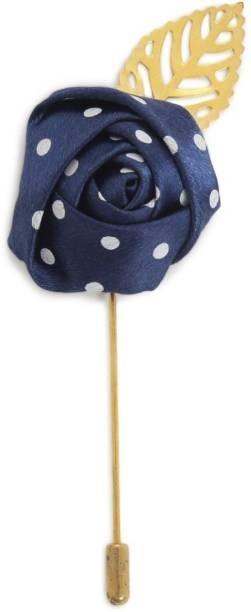 9395bbde58 AJ Dezines Handmade Flower Shaped Party Wear Brooch With Lapel Pin Brooch