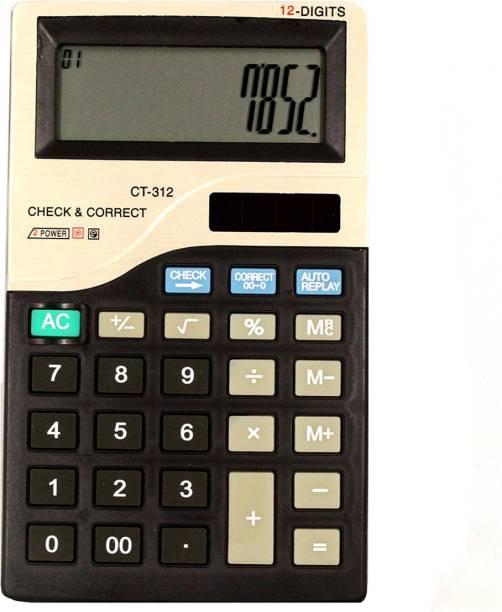 Stealodeal Ct312 12 Digit Basic Calculator